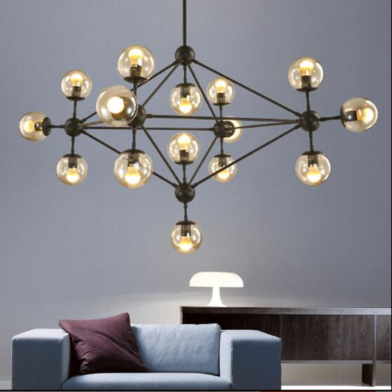 American magic LED modo 5/10/15/21 head dining room decoration Chandelier living room DNA pendent lights free shipping