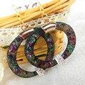 Самые продаваемые новое поступление смолаы кристалл Stardust сетки серьги, Шамбалы бусины подарок для женщин мода ювелирных изделий