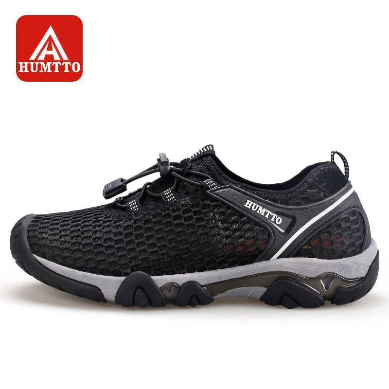 HUMTTO Upstream Shoes Men s Quick drying Breathable Wear resistant Outdoor Fishing Water Aque Shoes