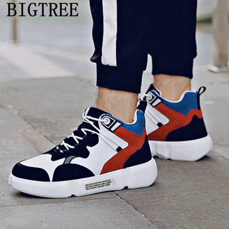 Hip hop รองเท้า unisex รองเท้าหนังลำลองผู้ชายรองเท้าแบรนด์หรูหิมะรองเท้าบู๊ทผู้ชายสูงด้านบนรองเท้าผ้าใบฤดูหนาวรองเท้าผู้ชาย bota feminina