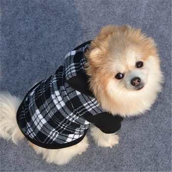 Winter Warm Pet Dog Clothes Hoodie Small Dog Sweaters Coats Cotton Puppy Clothing Outfit For Chihuahua image