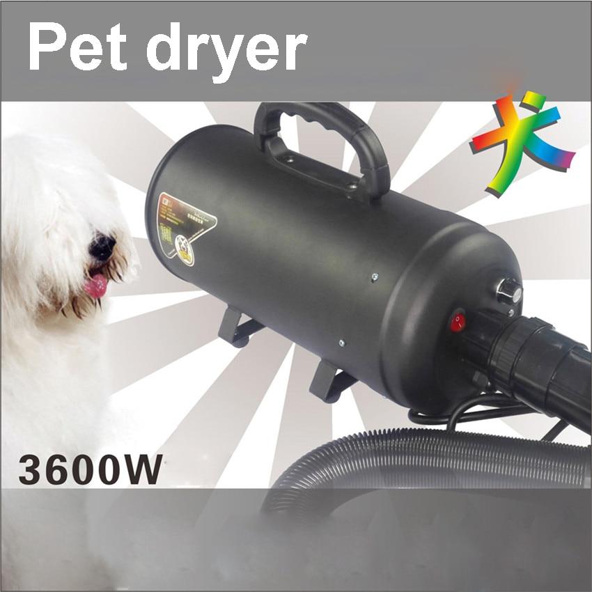 3pcs Hair Dryer High Power Motor Double Engine Hair Dryer Pet Grooming Dog 220 v 3600