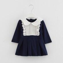2017 nouveau printemps bébé vêtements infantile princesse fête d'anniversaire de bébé filles robes nouveau-né filles vêtements enfants bébé dress 0-2 t