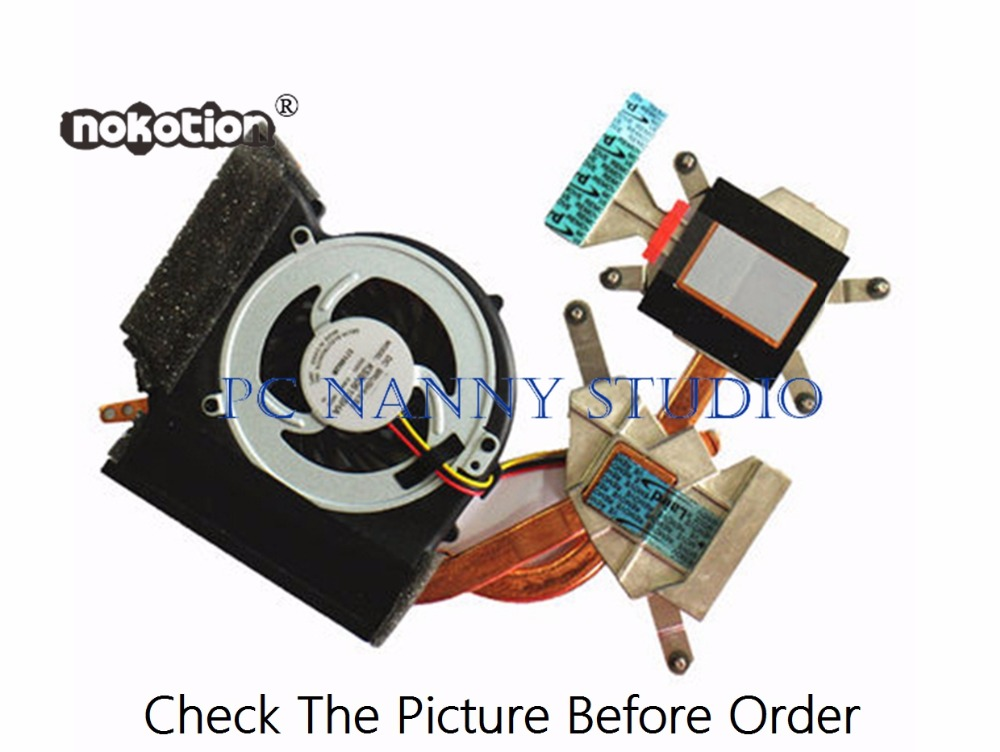 Tireless Nokotion For E40 E50 75y5994 Cooling Fan & Heatsink Assembly Radiator Cooler Working Fan Cooling Computer & Office