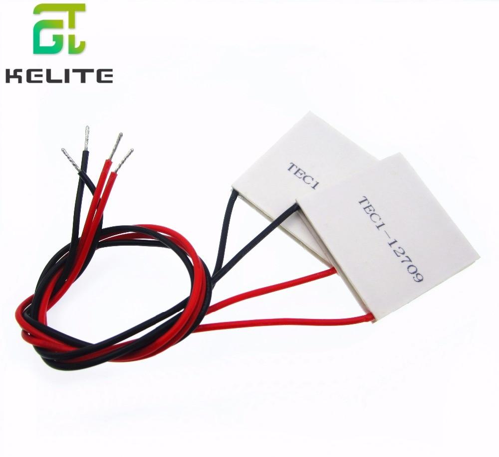 HAILANGNIAO 10pcs/lot TEC1-12709 12v 9A TEC Thermoelectric Cooler Peltier 12709