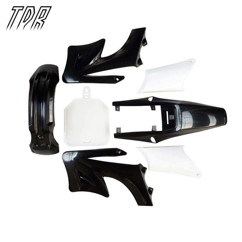 TDR Cover for Apollo Fender Kits Motorbike Accessories Fairing & Body Work 125cc 125cc 150cc Guard Black + White HHY