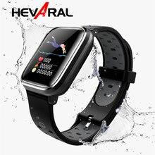 Hevaral Smart Watch Men Women GPS Sport Fitness Tracker Bracelet Heart Rate Blood Pressure Measure Sleep Monitor IPX7 Waterproof