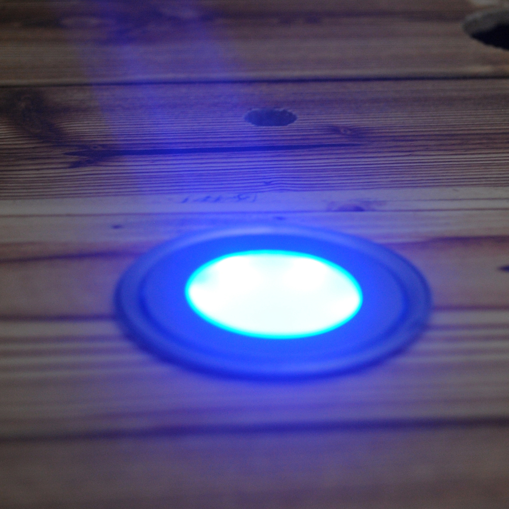 Low Voltage Stainless Steel LED Ground Lights 0.5W Waterproof Patio Pavers  Light Recessed Floor Lighting For Garden In Underground Lamps From Lights  ...