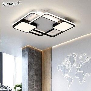 Image 3 - Novo design conduziu a luz de teto para sala estar jantar quarto luminarias parágrafo teto luzes led para casa luminária moderna