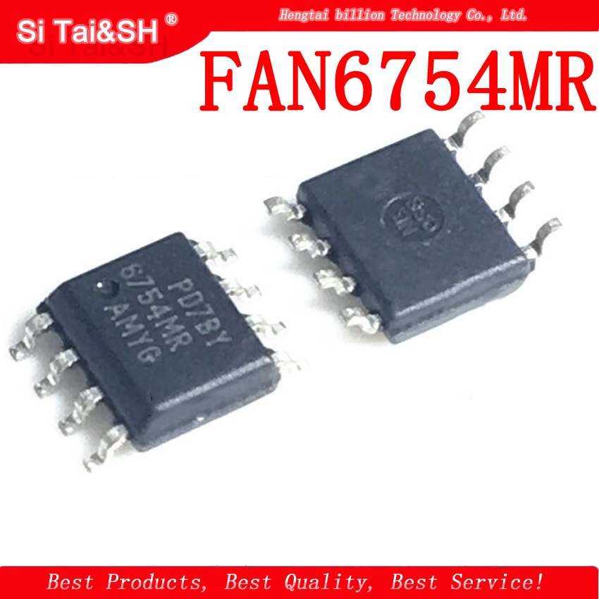 10pcs/lot FAN6754MR FAN6754 6754MR SOP-8 LCD Management