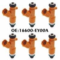 6ピース16600-EY00A 16600 EY00A 16600EY00A燃料インジェクターノズル日産インフィニティg37 370z q50 0950