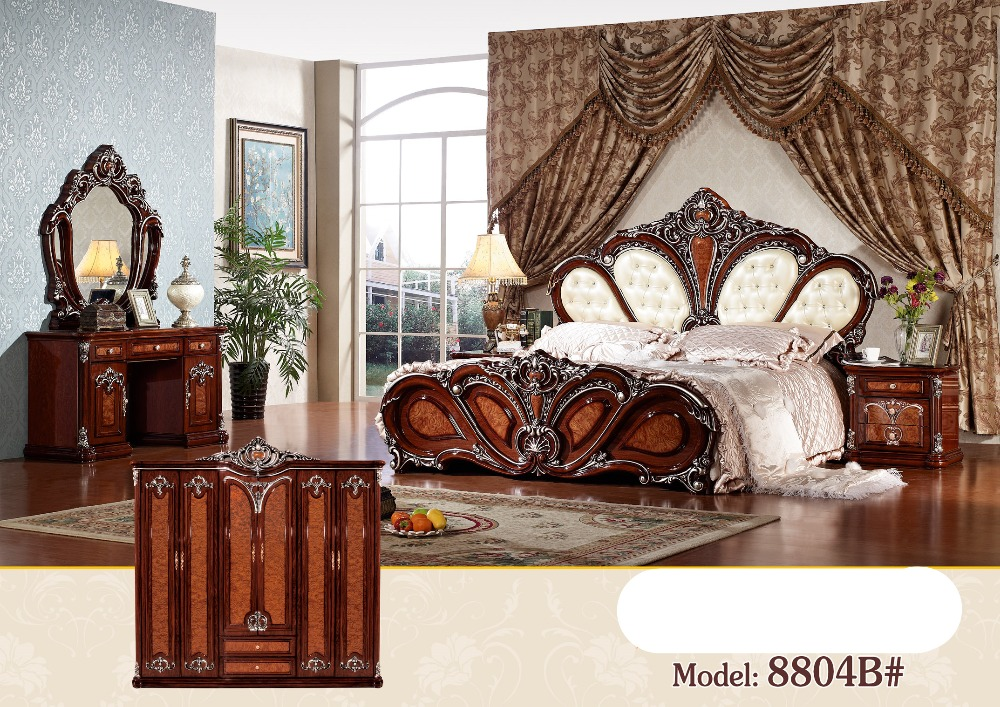 Online Shop Luxury Bedroom Furniture Sets Bedroom Furniture China Deluxe  Six Piece Suit | Aliexpress Mobile