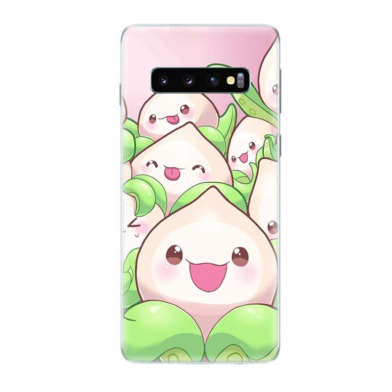 Overwatchs OW D VA Art Phone Case For Samsung Galaxy S9 S8 A6 A8 Note 9 8 S7 S6 Edge J4 J6 Plus A7 A9 J5 J8 2018 Cover Coque in Half wrapped Cases from Cellphones Telecommunications