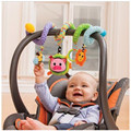 2016 Cute Infant Babyplay Baby Toys Activity Spiral Bed & Stroller Toy Set Hanging Bell Crib Rattle Toys For Baby