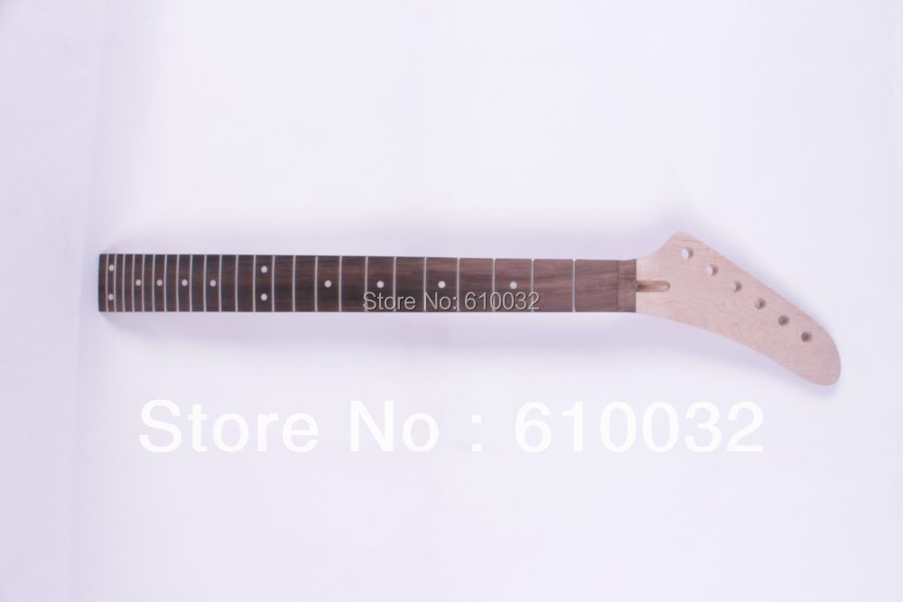 One electric guitar neck  mahogany made and  Rosewood fingerboard 24 fret 267# black color 24 frets holt on one electric guitar neck mahogany wood and rosewood fingerboard 171