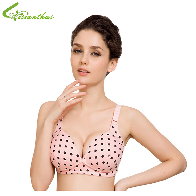 Pregnant Women Lactating Mother Bras Breastfeeding Nursing Bra Cotton Underwear C Cup Soft Vest Top Drop Shipping Wholesale New ...