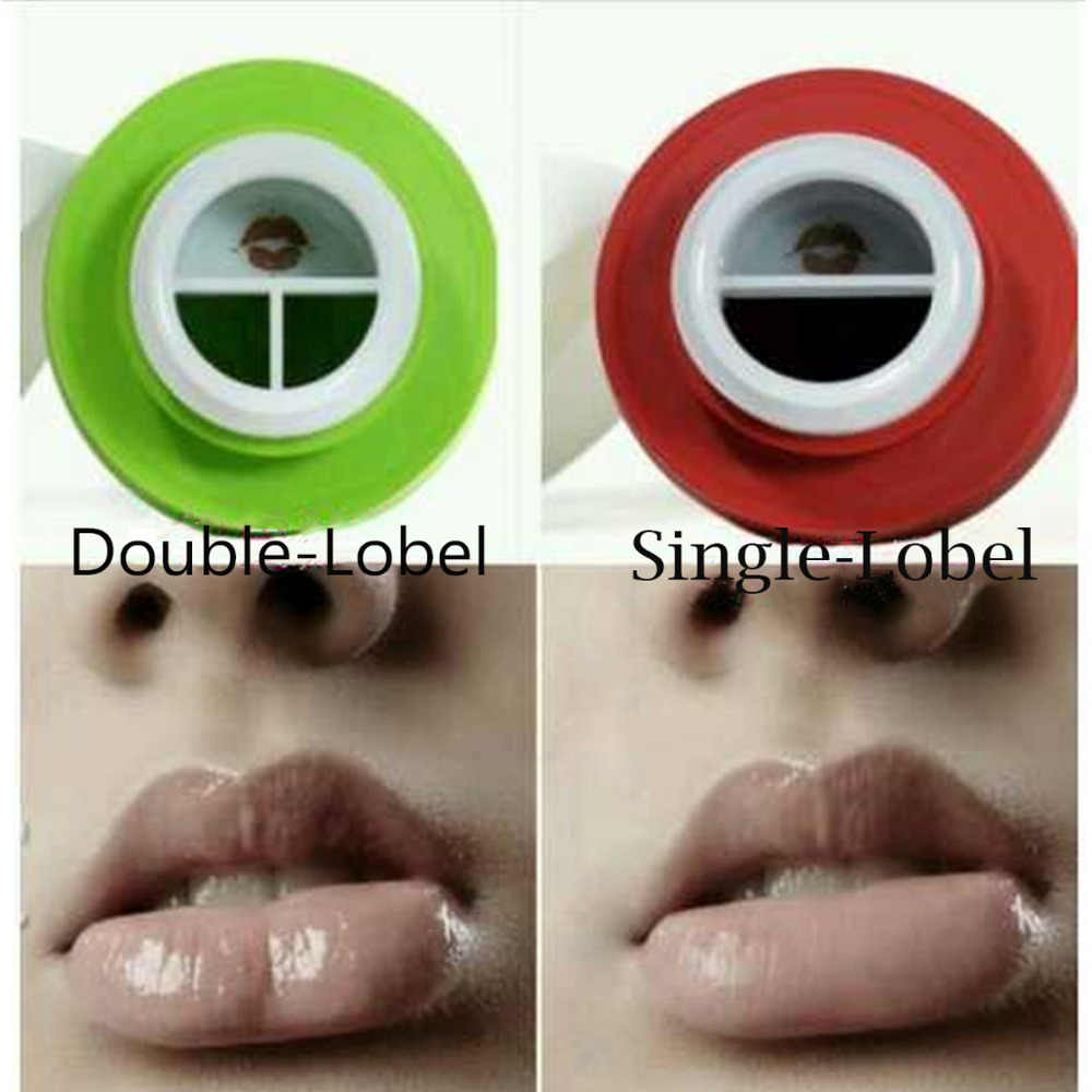 Newest Women Girls Lip Plumpers Apple Lips Enhancer Double or Single Lobed Lip Suction Plumper lips Care Tools For Lady