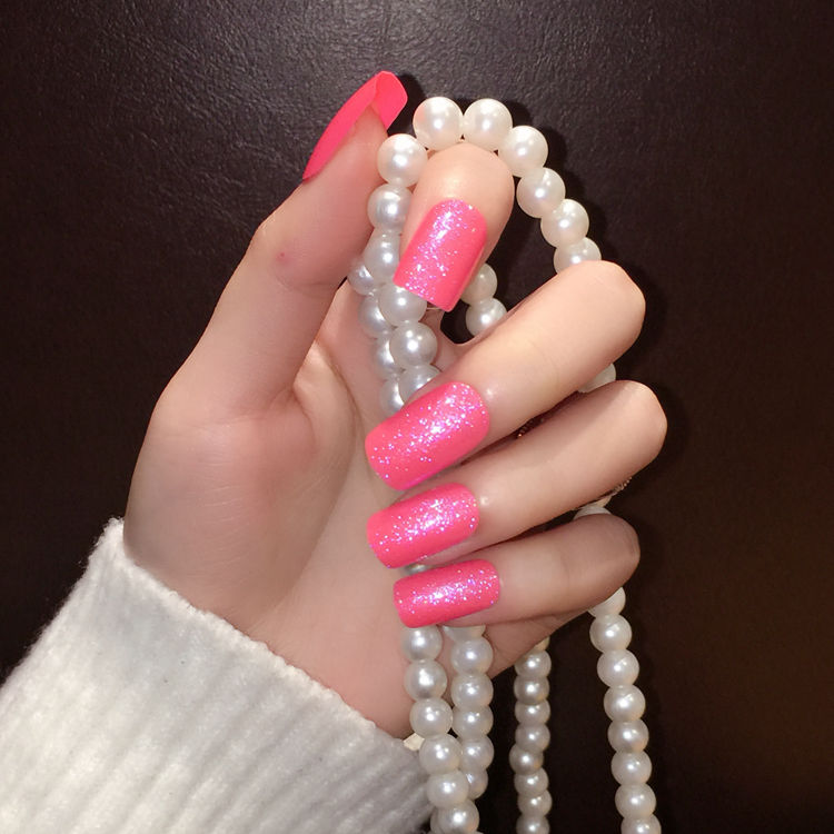 Buy Pink Long Nails And Get Free Shipping On AliExpress