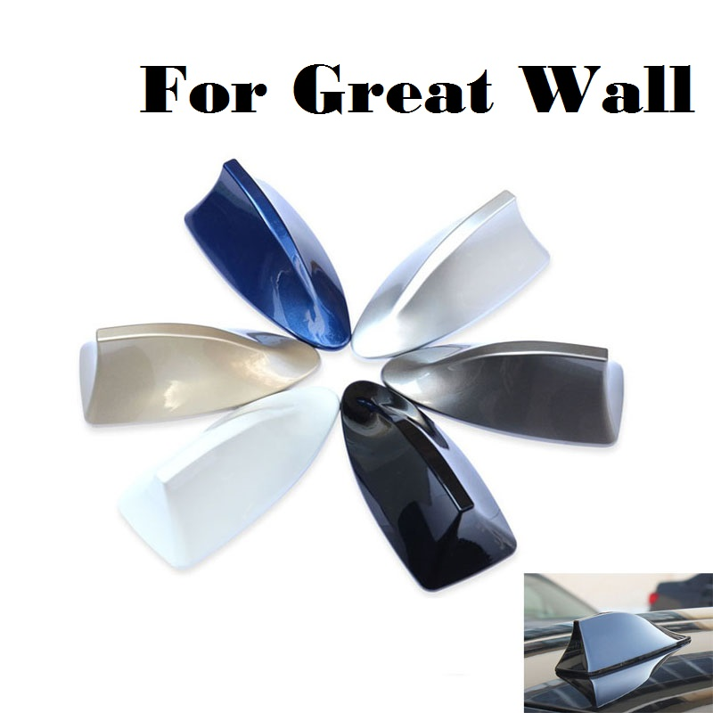 2017 For Great Wall Hover M1 Hover M2 Hover M4 Pegasus Peri Safe Sing RUV cars shark fin antenna radio roof antena 3M sticker