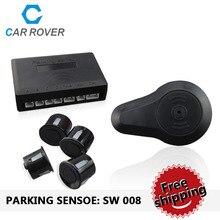 Auto Detective sensor de Control de Distancia de Aparcamiento Sistema de Aparcamiento con Zumbador BiBi Sonido sin Display 4 Sensores 22mm PS008