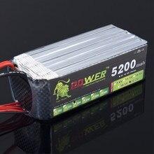 LION POWER – batterie Lipo 6S 30C, 22.2v, 5200mAh, pour hélicoptère RC, voiture, bateau, Quadcopter, télécommande, jouets, pièces