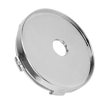 60mm Silver Wheel Center Cap ABS Chrome Car-styling No Logo Auto Hubcaps Cover Car Wheel Cover Dust Cover image