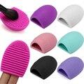 Silicone Placa de Ferramentas de Lavagem de Limpeza Escova De Maquiagem Cosméticos Makeup Brushes Scrubber Ferramenta de Lavagem Escova Cosmética Mais Limpo