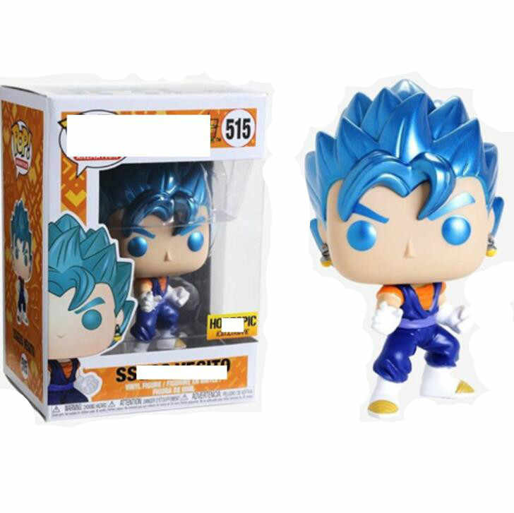 Funko Pop Colecionáveis Modelo Brinquedos FREEZA Dragon Ball SUPER SAIYAN GOKU GRANDE MACACO VEGETA Action Figure Toy Boy