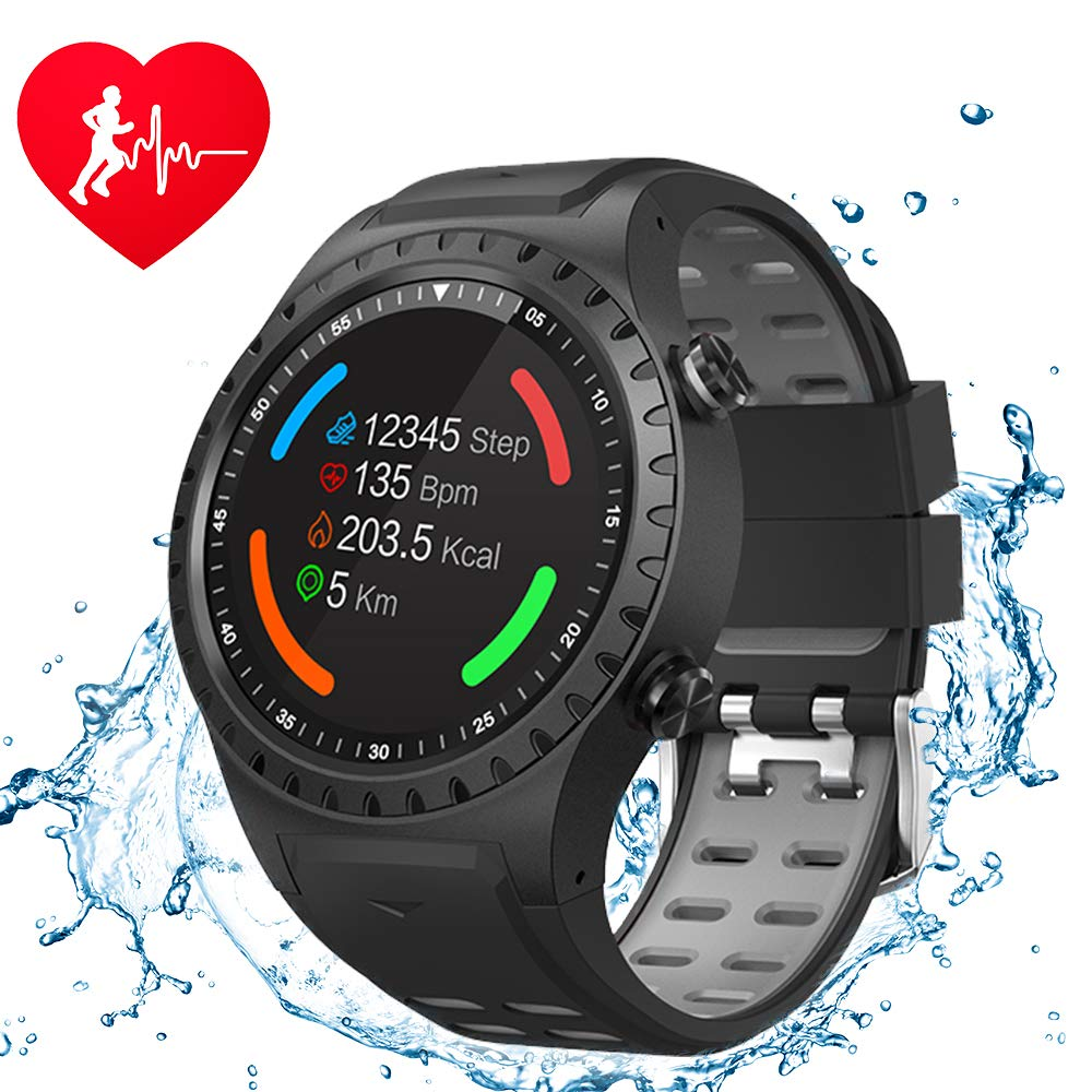 <font><b>M1</b></font> Smart <font><b>Watch</b></font> Support SIM & Bluetooth Phone Call GPS Smartwatch Phone Men Women IP67 Waterproof Heart Rate Monitor Clock <font><b>Watch</b></font> image