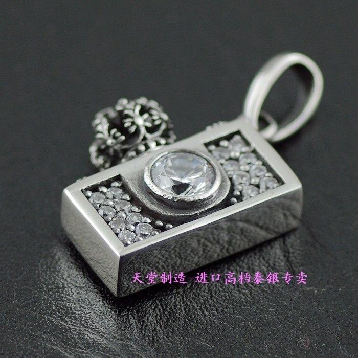 925 pure silver justin davis camera silver pendants цена 2017