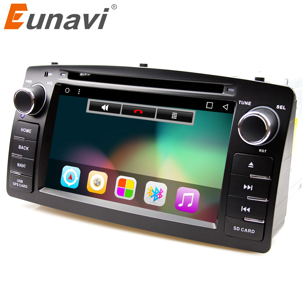 Eunavi Quad Core 2 Din Android 7 1 font b Car b font Dvd Player font