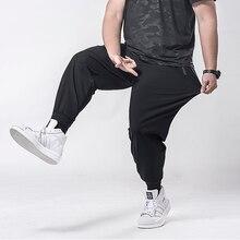 Брюки мужские спортивные, Джоггеры для фитнеса, повседневные штаны, большие размеры 6XL 7XL 5XL