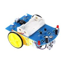 D2-1 Intelligent Tracking Line Follower Sensor Obstacle Avoidance Module For Arduino Reflectance Optical Switch Robot Car Model(China)