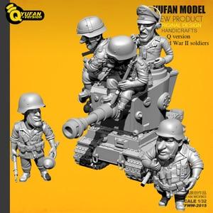 Image 2 - Yufan Modell 1/32 Soldat Q version der soldat 6 plus tank set Yfww 2015