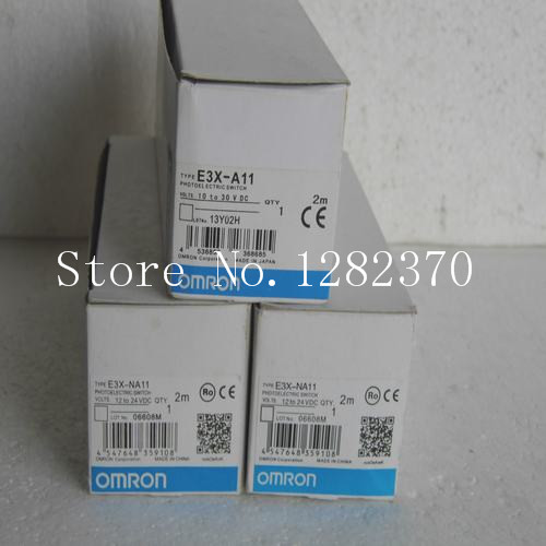 [SA] Japan's new original authentic OMRON sensors SWITCH E3X-A11 Spot --2PCS/LOT authentic original omron limit switch ze q22 2