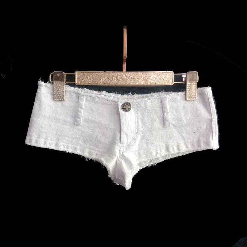 Sexy Women Tassel Low Rise Waist Hot   Short   Sexy Denim Booty Sexy Jeans   Shorts   Vintage Cute Micro Mini   Short   Club Wear Plus Size
