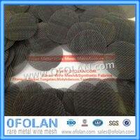 (MO1> 99.95%) Размер отверстия 0,26 мм (60 сетка) без покрытия молибдена сетка 100 мм X 1000 мм наличии питания
