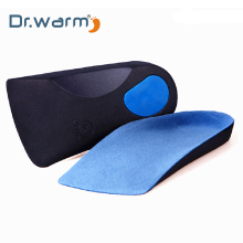 Dr warm EVA Flat Foot Orthotic Insoles Arch Support Half Shoe Pad Orthopedic Care for Men and Women size 36 to48