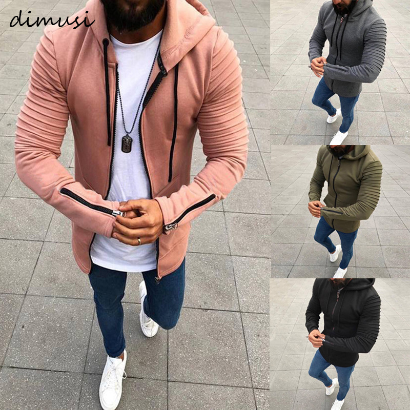 DIMUSI Spring Autumn Men's Hoodies Slim Hooded Sweatshirts Mens Coats Male Casual Sportswear Streetwear Brand Clothing 5XL,TA299