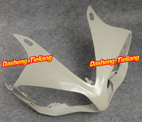 GZYF Unpainted Upper Front Fairing Cowl Nose Fits for Yamaha 2007 2008 YZF R1 ABS