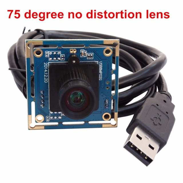 No distortion Lens Driver Free 8MegaPixels USB Camera Module With ...