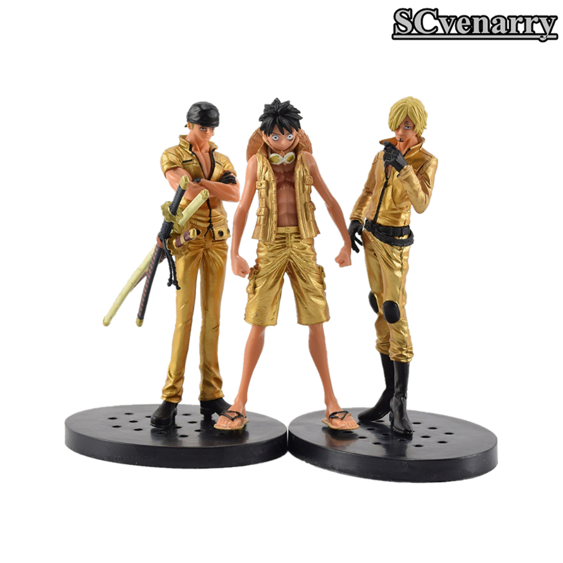 Constructive One Piece Dxf Monkey D Luffy Zoro Sanji Model Toys Anime Action Figuregift For Children Perfect In Workmanship Action & Toy Figures