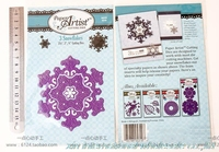 Beautiful 3d diy snowflakes dies scrapbook NEW ARRIVAL EMBOSSING STENCILS cutting dies die cuts 5310