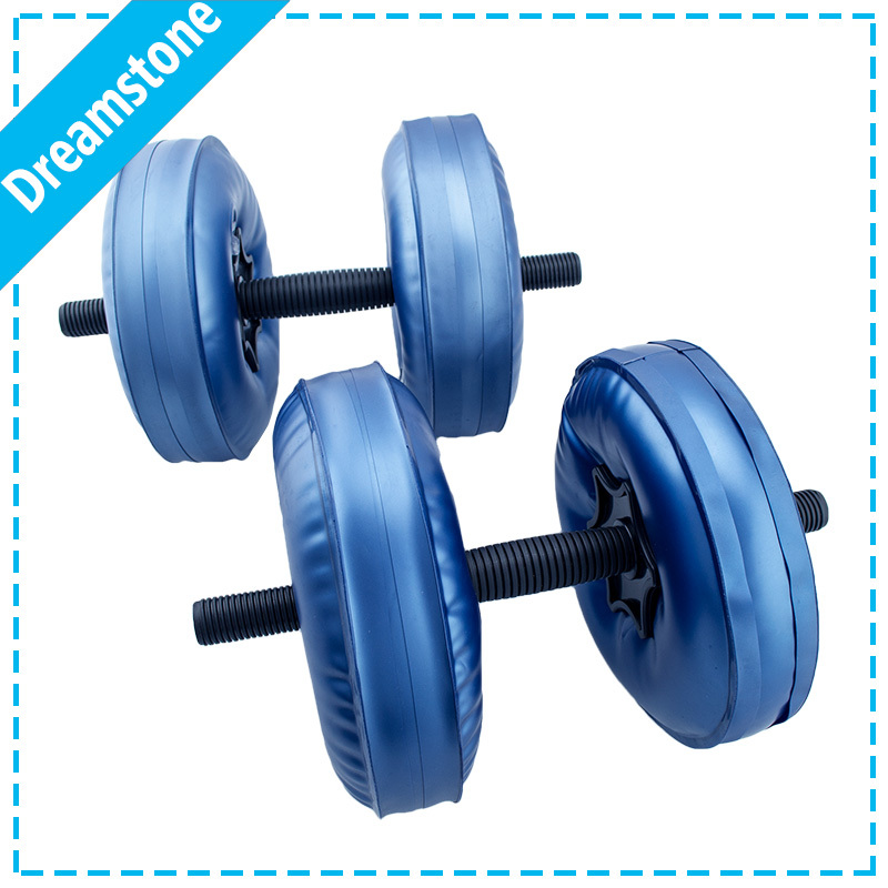 Free shipping 1 Pair Original soft Water filled Dumbbell
