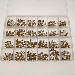 Image 4 - 24 valores * 20 piezas = 480pcs condensador cerámico monolítico 10pF ~ 10uF, condensador cerámico Kit surtido 1UF 100NF 330NF 0,1 UF 102 104 105