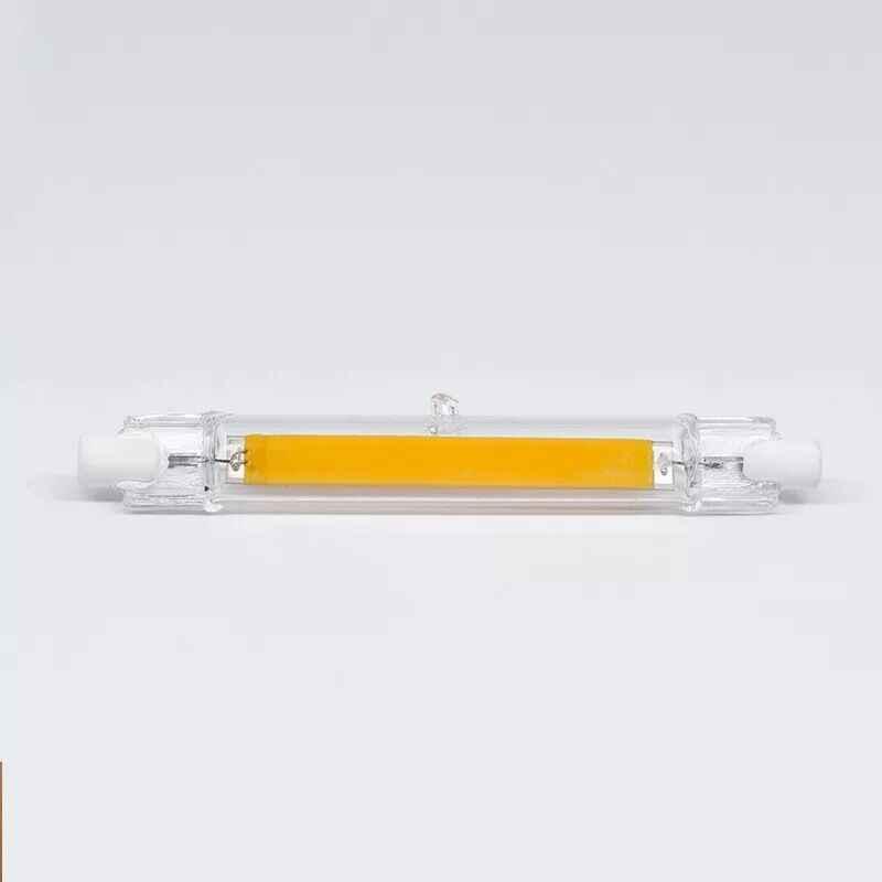 Вел галогенные лампы затемнения J78 J118 R7S свет 5 W 78 мм 10 W 118mm led RX7S light tube AC220-240V