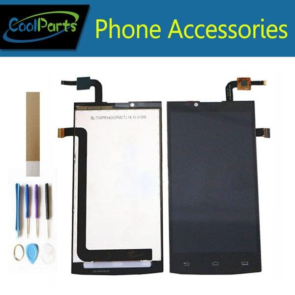 Pour Philips Xenium S398 LCD écran de visualisation Et ensemble de digitaliseur tactile Noir Couleur Avec Outils et bande