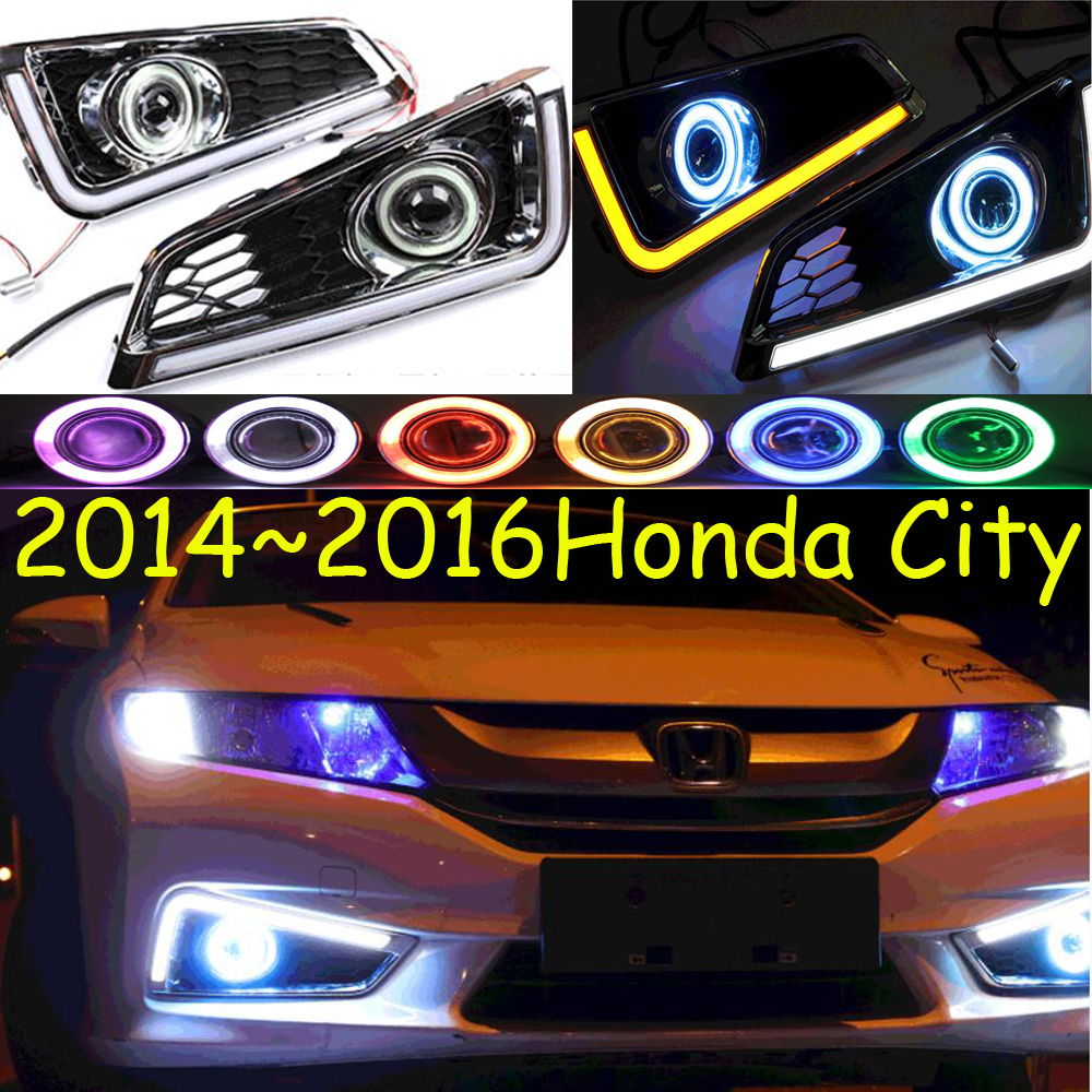 City fog light LED,2014~2016;Free ship!City daytime light,2ps/set+wire ON/OFF:Halogen/HID XENON+Ballast,City alto fog light 2014 2016 free ship alto daytime light 2ps set wire on off halogen hid xenon ballast alto