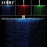Нержавеющаясталь 16 дюймов Chrome польский дождь Насадки для душа ванна душ смесителя Ванна осадков Насадки для душа Ванная комната смеситель