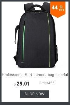ombros saco da câmera anti-roubo saco da câmera com capa de chuva